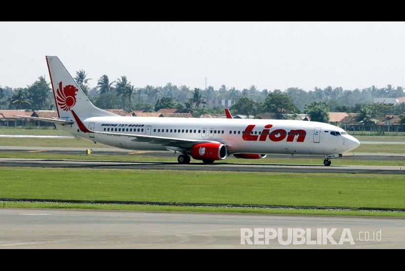 Pesawat Lion Air  (ilustrasi)