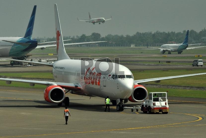 Pesawat maskapai Lion Air (ilustrasi)