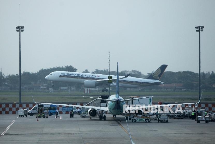 Bandara Soekarno Hatta, Tanggerang, Banten (ilustrasi).