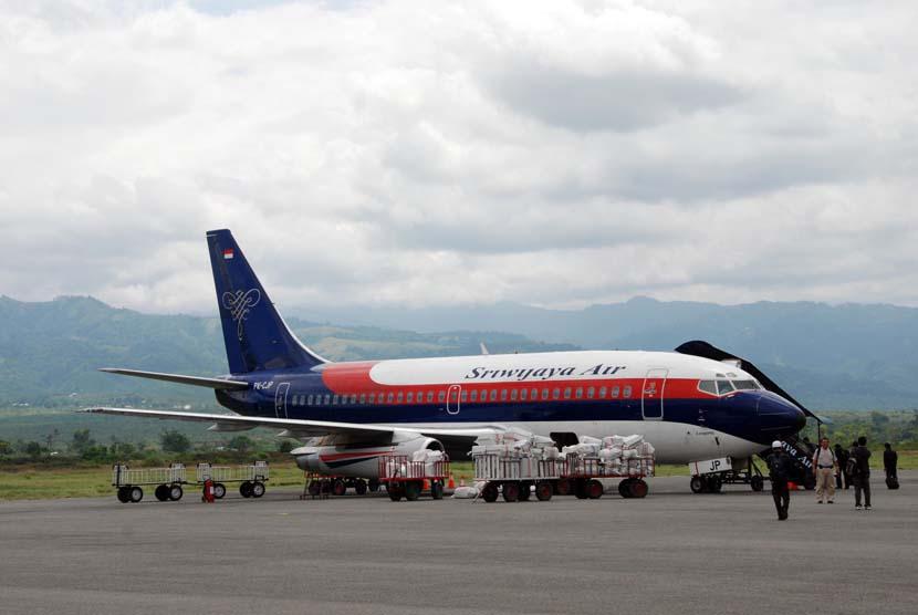 Pesawat Sriwijaya Air (ilustrasi).