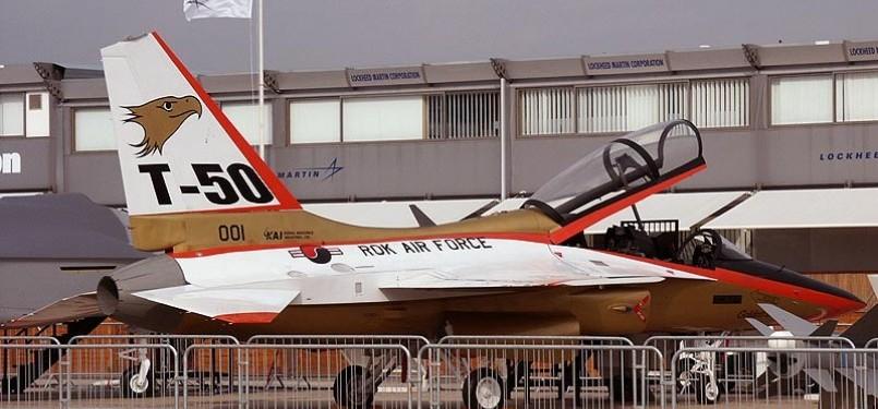 Pesawat tempur T-50 buatan Korea Selatan