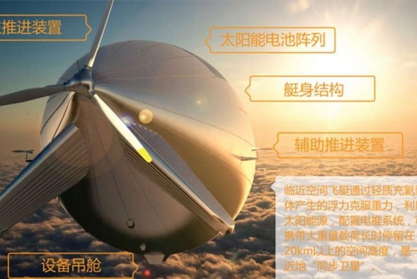 pesawat The Yuanmeng