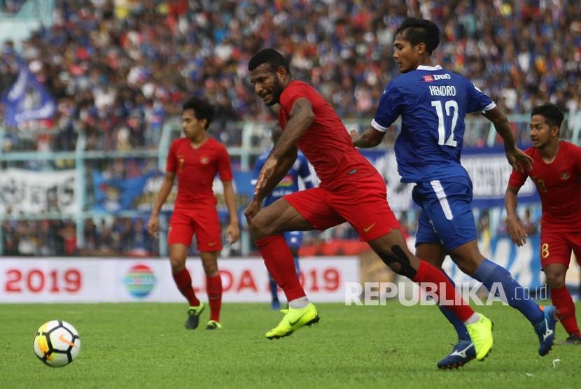 Arema Vs Timnas: Uji Coba Timnas U-22 Vs Arema FC Bermain Imbang 1-1