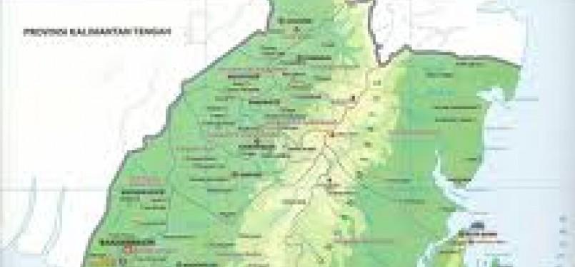 Peta Kalimantan Selatan (ist)