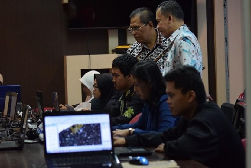 Peta kelurahan berbasis bidang yang tujuannya menyatukan basis data guna mempermudah koordinasi dan penataan data.