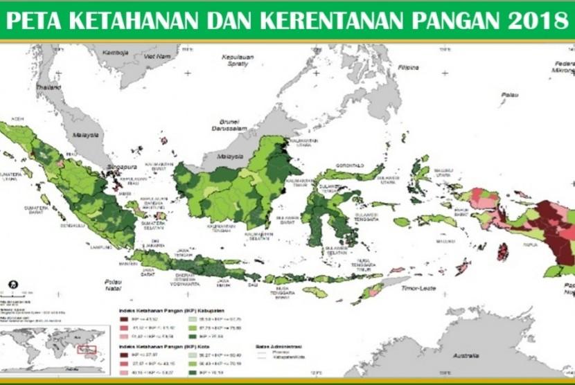 Peta Kerentanan dan Ketahanan Pangan BKP Kementan