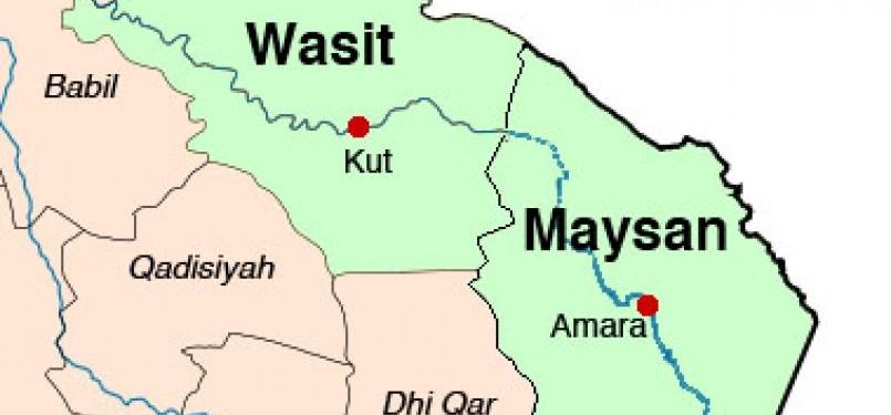 Peta kota Wasith.