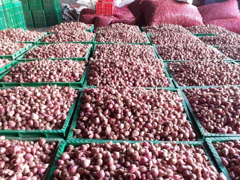 Bea Cukai Aceh gagalkan penyelundupan bawang merah. Foto bawang merah, (ilustrasi).