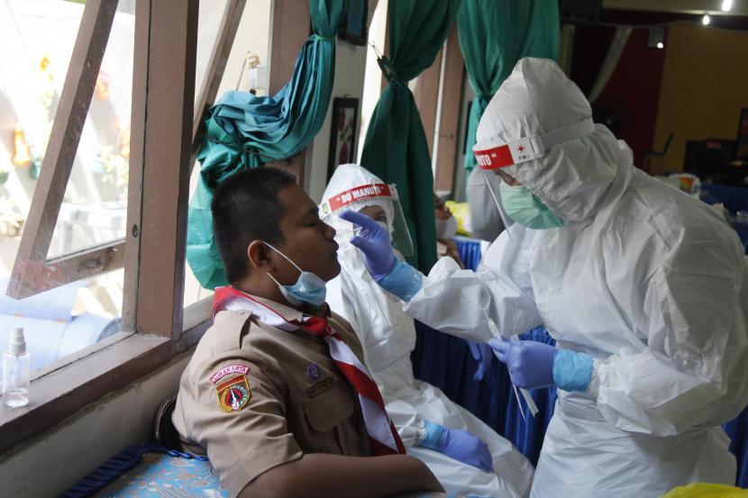 Tes PCR ke Siswa dan Guru di Bandung akan Diperluas (ilustrasi).