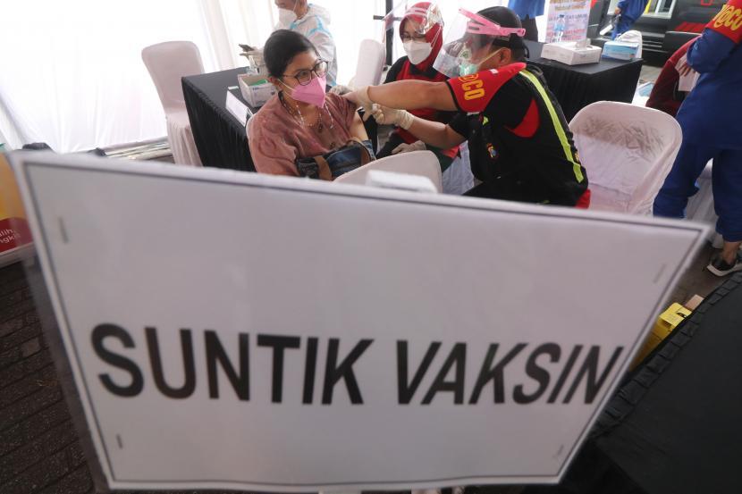 Pemkot Kediri Manfaatkan Layanan E-Tiket Saat Vaksinasi (ilustrasi).