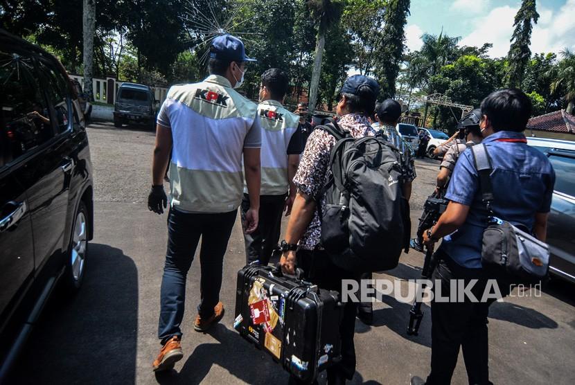 KPK Geledah Kantor Dinas PUPR Kota Tasikmalaya