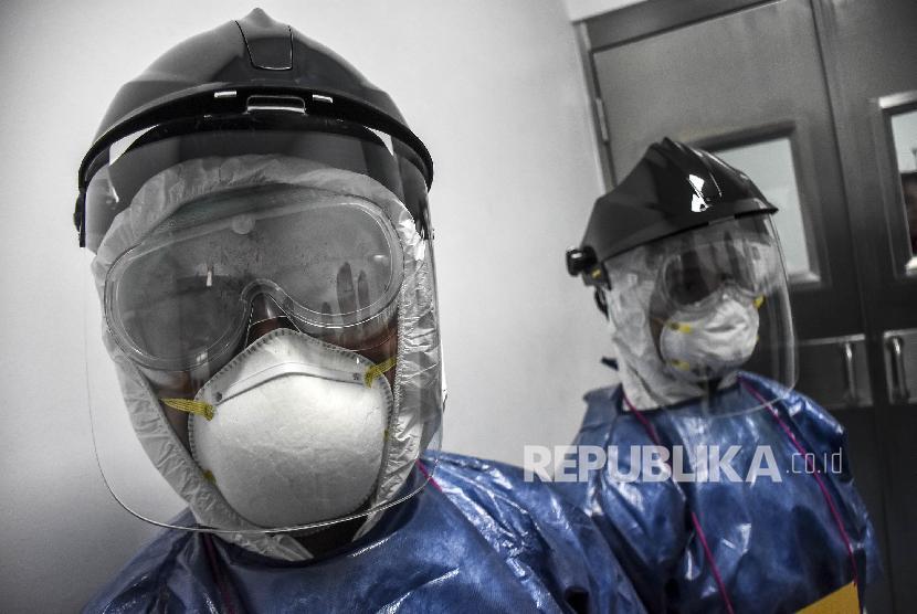 Simulasi Penanganan Pasien Virus Corona Di Bandung Republika Online