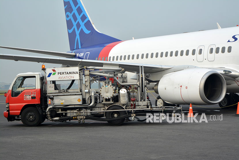 Avtur refueling at Juanda International Airport, Sidoarjo, East Java. (File photo)
