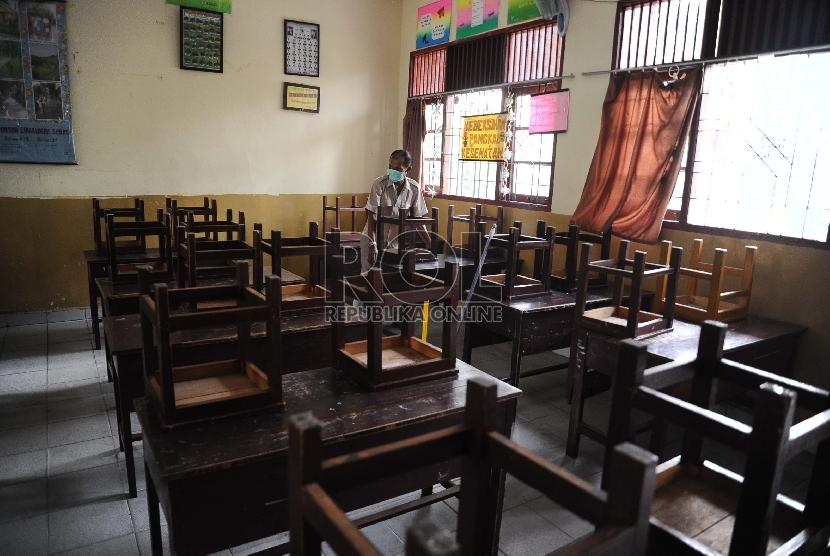 Kebutuhan ruang kelas masih kurang (ilustrsai)