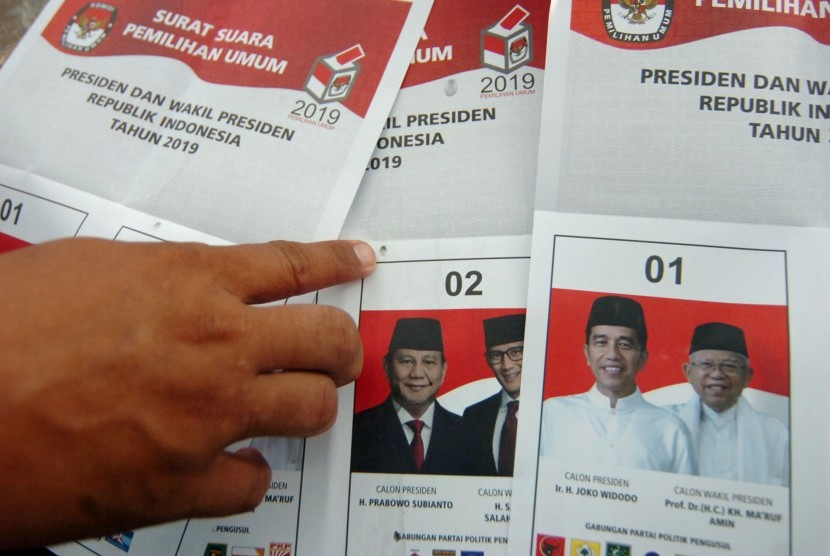 Surat suara pemilu rusak (ilustrasi).