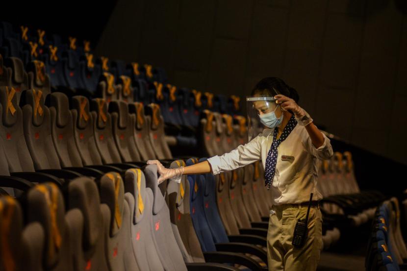 Ini Aturan Baru Nonton di Bioskop Saat Pandemi Covid-19 | Republika Online