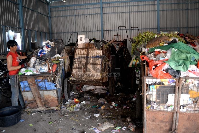 Pengolahan sampah (ilustrasi)