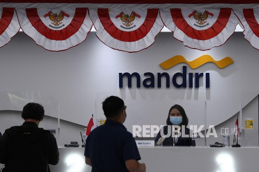 Bank Mandiri (ilustrasi). PT Bank Mandiri (Persero) bersinergi dengan Mastercard menyiapkan produk kartu kredit Mandiri Corporate Card Mastercard.