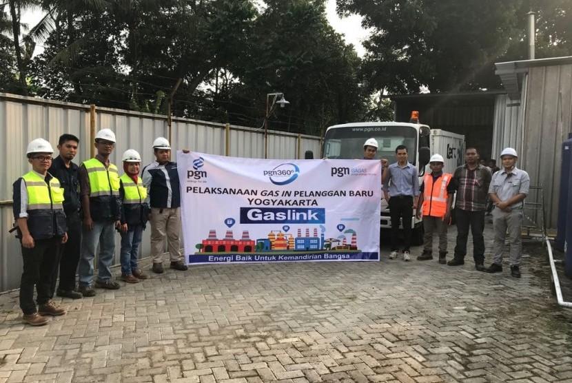 PGN akan menyalurkan gas untuk keperluan produksi bakpia kukus merek Tugu Jogja milik CV Tugu Jogja Istimewa di Yogyakarta.