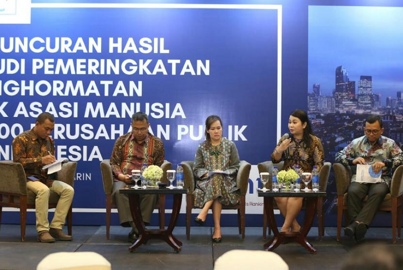 PGN berhasil masuk dalam daftar lima besar perusahaan penerima penghargaan dengan kinerja hak asasi manusia (HAM) terbaik dari Foundation for International Human Rights Reporting Standards (FIHRRST).