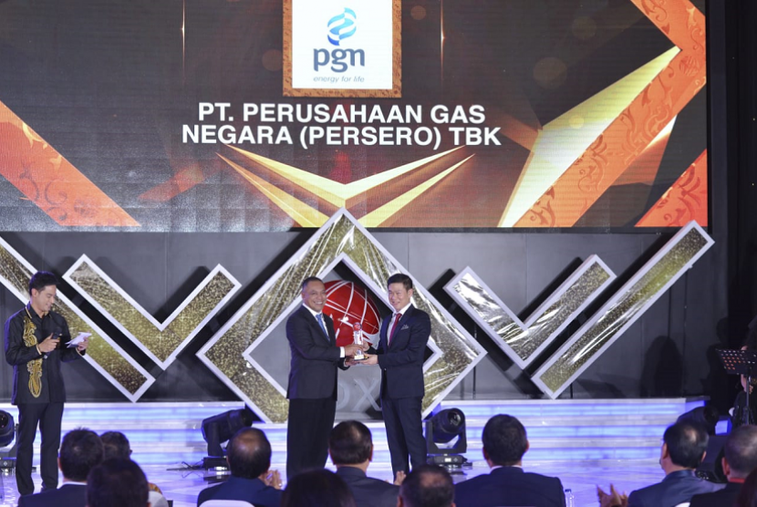 PGN meraih penghargaan The Most Innovative Company in Infrastructure, Utilities, and Transportation Sector dari IDX Channel Innovation Awards 2019.