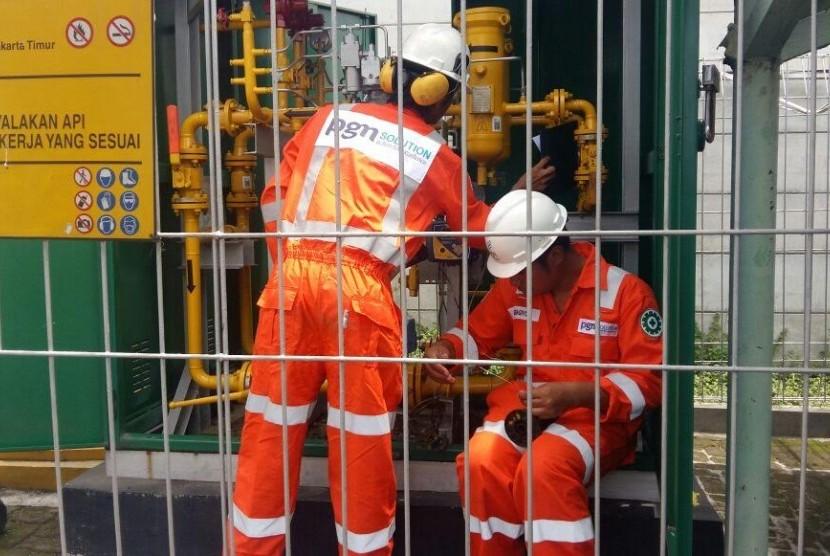 PGN terus meningkatkan infrastruktur untuk menyalurkan gas bumi.