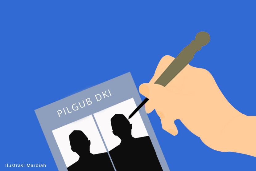 Pilgub DKI (Ilustrasi)