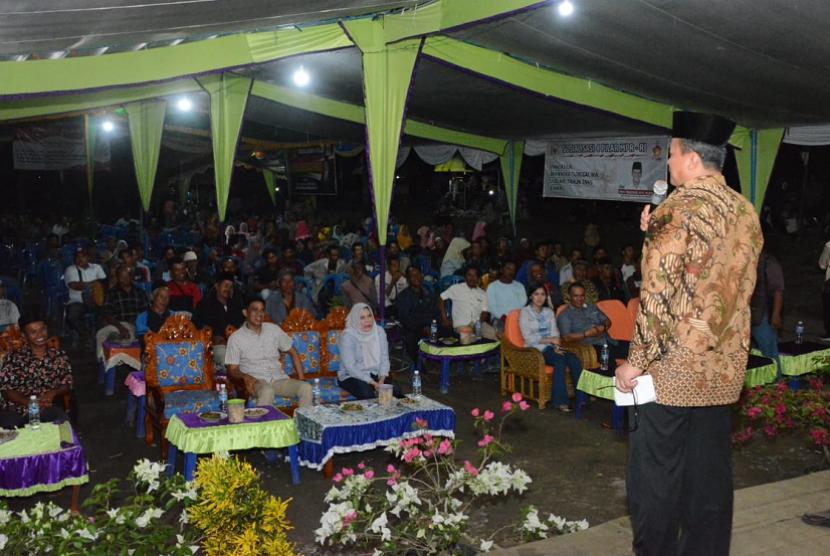 Pimpinan Badan Sosialisasi MPR, Edhy Prabowo.