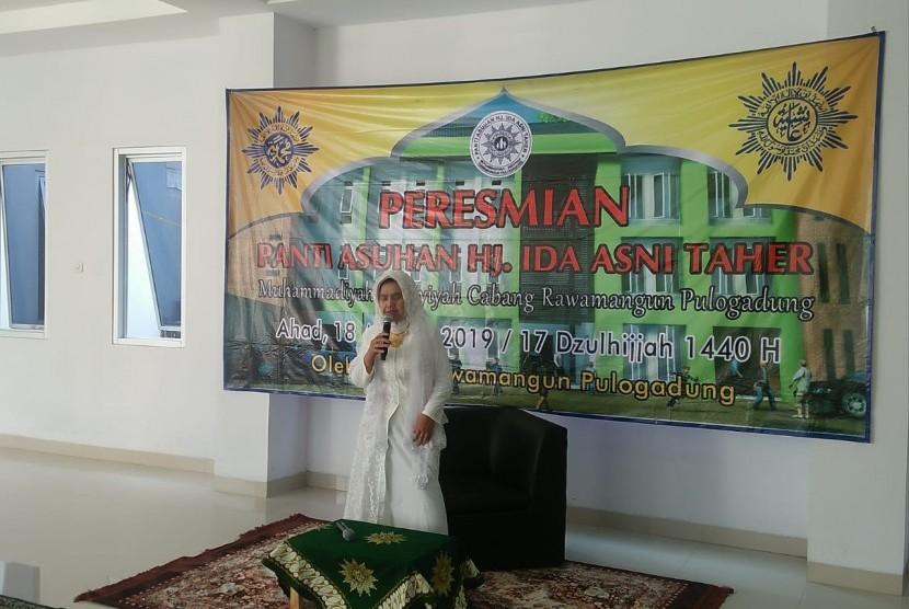 Pimpinan cabang Muhammadiyah dan Aisyiyah Rawamangun meresmikan berdirinya panti asuhan di Jati Cempaka, Bekasi.