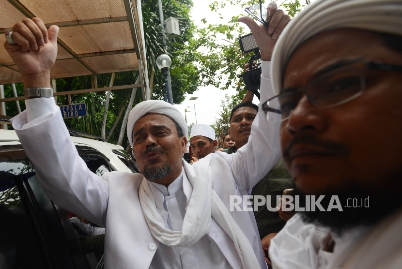Pimpinan Front Pembela Islam (FPI), Habib Rizieq Shihab. (ilustrasi)
