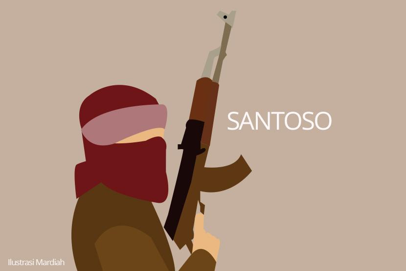 Pimpinan kelompok teroris di Poso, Santoso (ilustrasi)