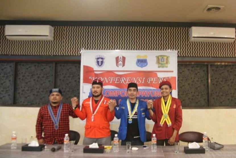 Pimpinan organisasi mahasiswa kelompok Cipayung
