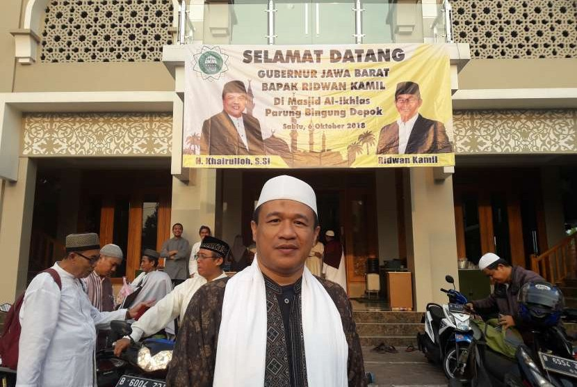 Pimpinan Ponpes Darul Akhyar Depok, Dr Syamsul Yakin MA.