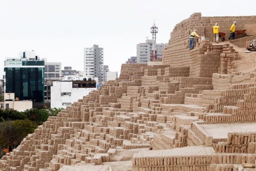 Piramid di Lima, Peru.