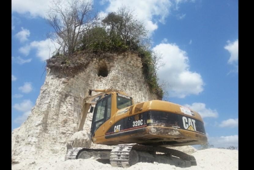 Piramida suku Maya dihancurkan di Belize City, Meksiko