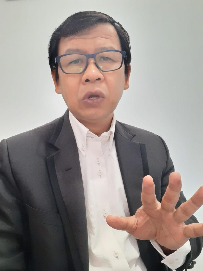IPIREL UMY Gelar ICCTP Perdana. Direktur IPIREL UMY, Dr Sugeng Riyanto.