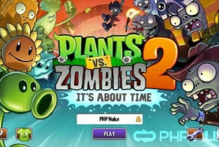 Power Plant Buat Tanaman Makin Ganas Di Plants Vs Zombies 2 Republika Online