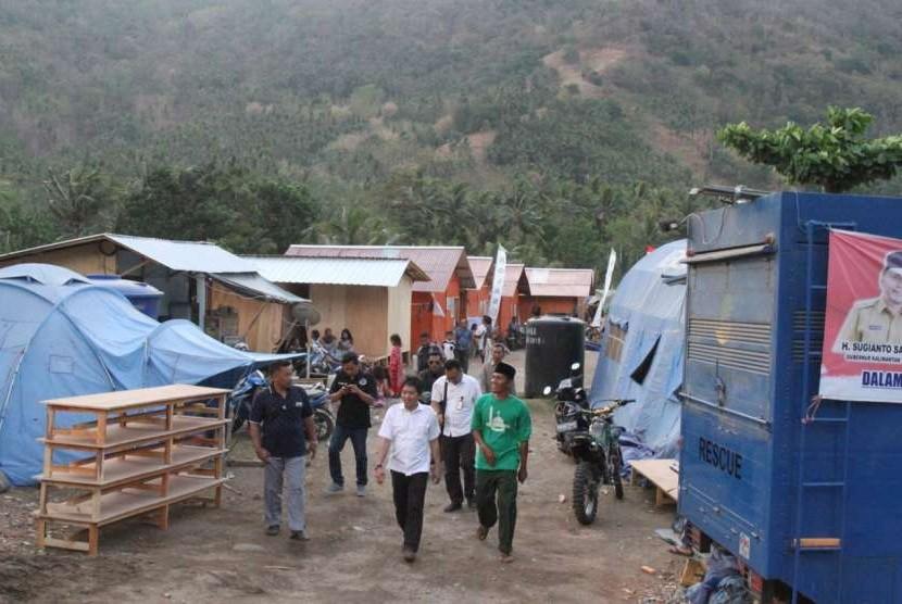 Plt. Deputi bidang Pemberdayaan Masyarakat, Desa, dan Kawasan, Kemenko PMK Sonny HB Harmadi melakukan kunjungan kerja ke NTB.