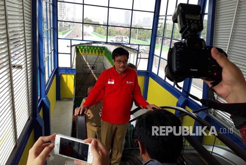 Plt Gubernur DKI Jakarta Djarot Saiful Hidayat