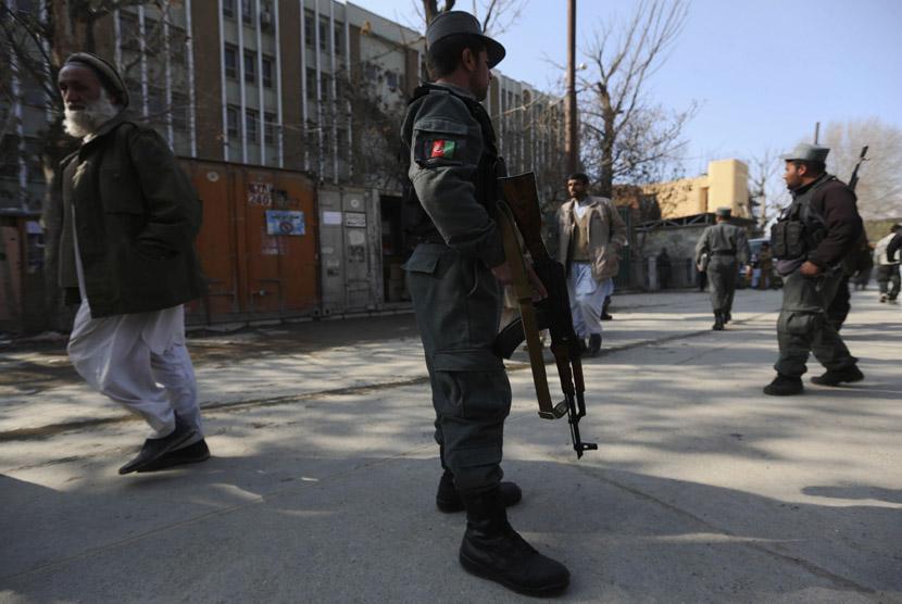 Polisi Afghanistan berjaga-jaga, ilustrasi