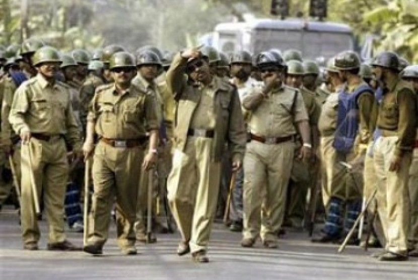 Polisi India (ilustrasi)