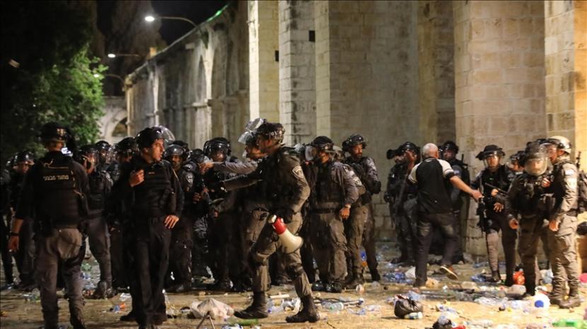 Polisi Israel Tangkap Aktivis Palestina Muna El-Kurd. Ilustrasi
