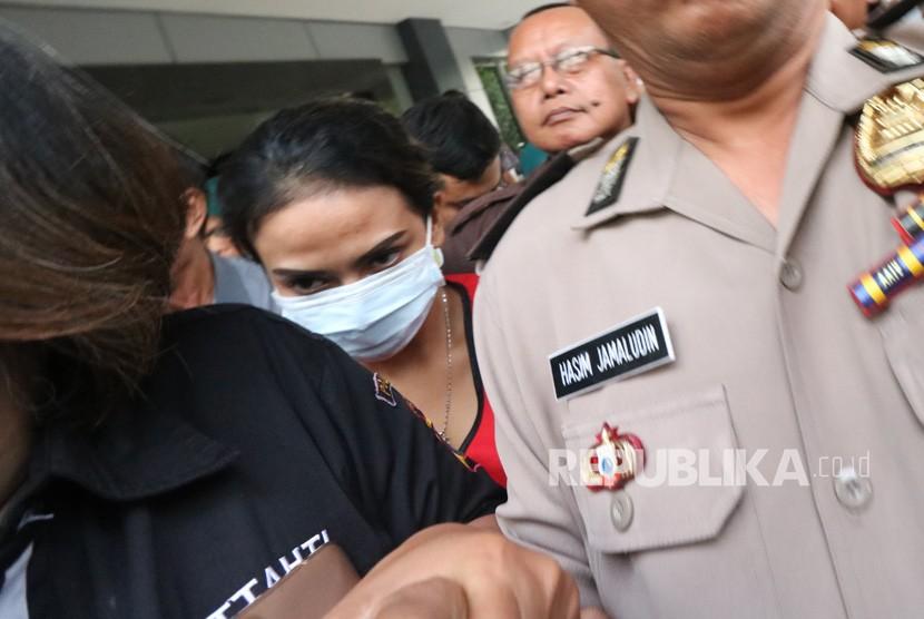Alasan Polisi Tetapkan Vanessa Angel Tersangka Narkoba