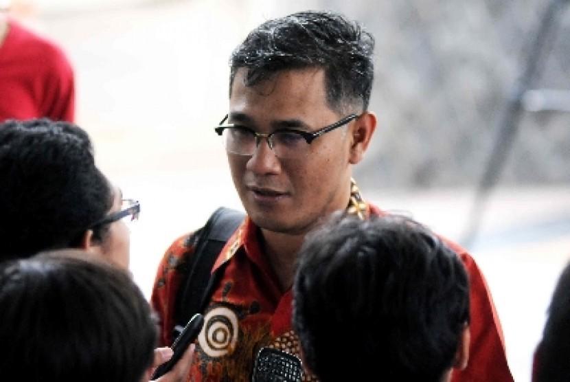 Politikus Partai Demokrasi Indonesia Perjuangan Budiman Sudjatmiko