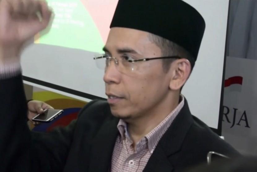 Politikus Partai Golkar, Tuan Guru Bajang (TGB) Muhammad Zainul Majdi