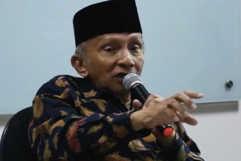 Politikus senior, Amien Rais