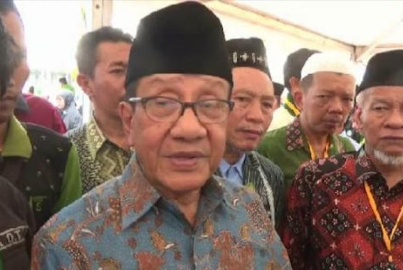 Politisi senior Partai Golkar, Akbar Tandjung.