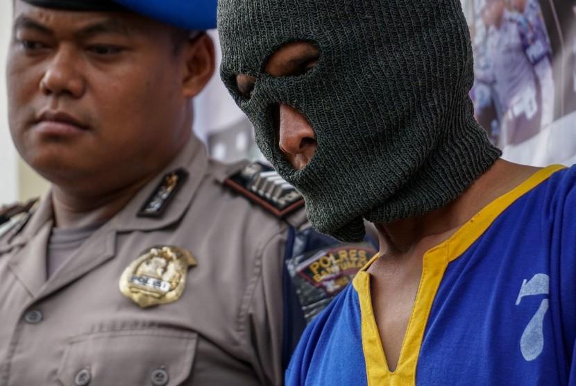 Pelaku pencabulan anak ditangkap (ilustrasi).