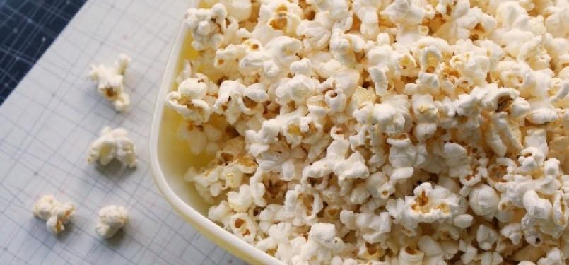 Popcorn (ilustrasi)