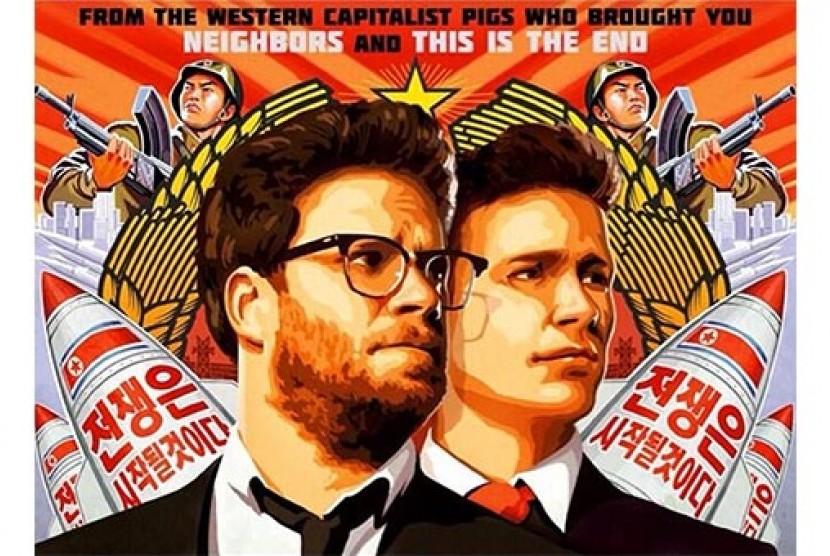 Poster film The Interview